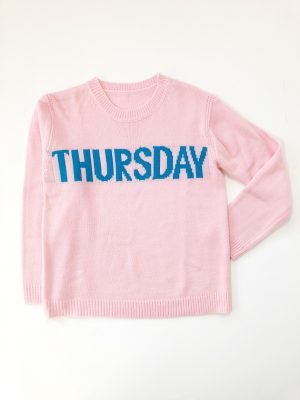 Statement sweater Thursday