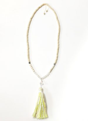 Ibiza necklace with tassel